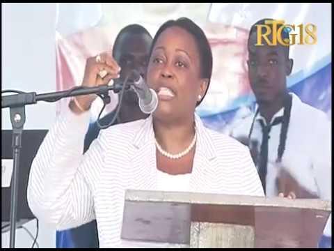 La Sénatrice du département du Nord Dieudonne Luma Étienne a inauguré