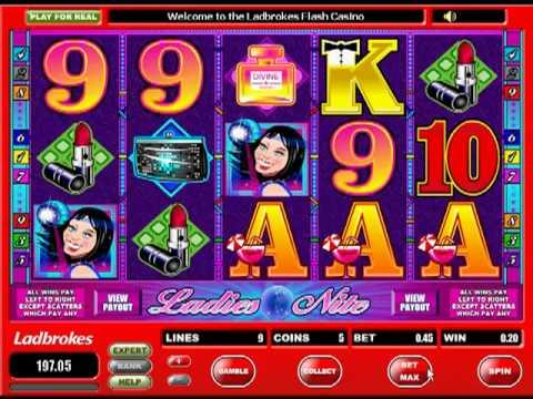 Ladies Nite Slot at Ladbrokes Casino