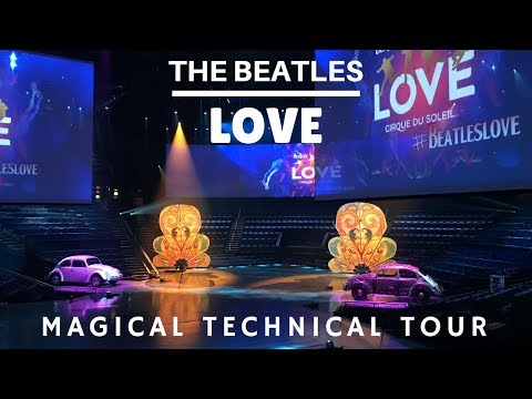 Beatles Love Cirque - Magical Technical Tour