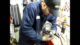 6. Ski-doo Expedition QRS Clutch Repair Series Part 2 - QRS Helix and Roller Spring Pin Removal