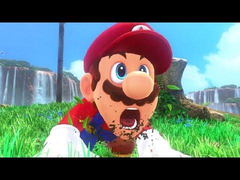Super Mario Odyssey Walkthrough Part 1 - Mario's Great Adventure Begins