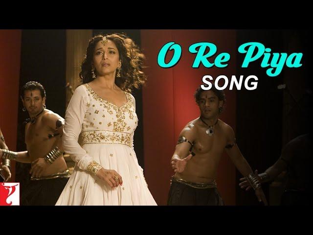 O Re Piya Song Aaja Nachle Madhuri Dixit ...