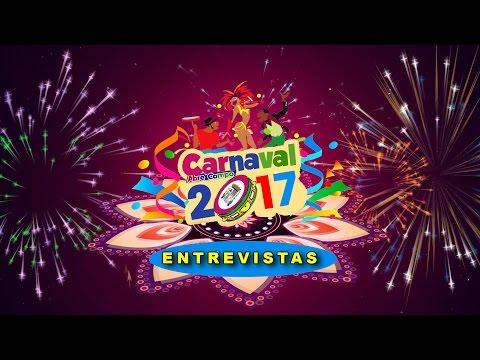Entrevistas com os participantes dos blocos no Carnaval Abre Campo 2004