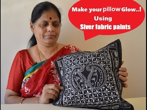 Cushion Cover Painting - BIDRI Style