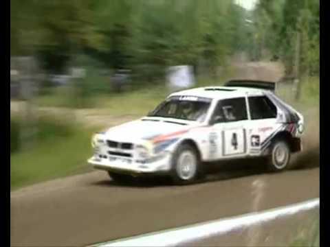 markku alen: rally 1000 laghi 1986 su lancia delta s4