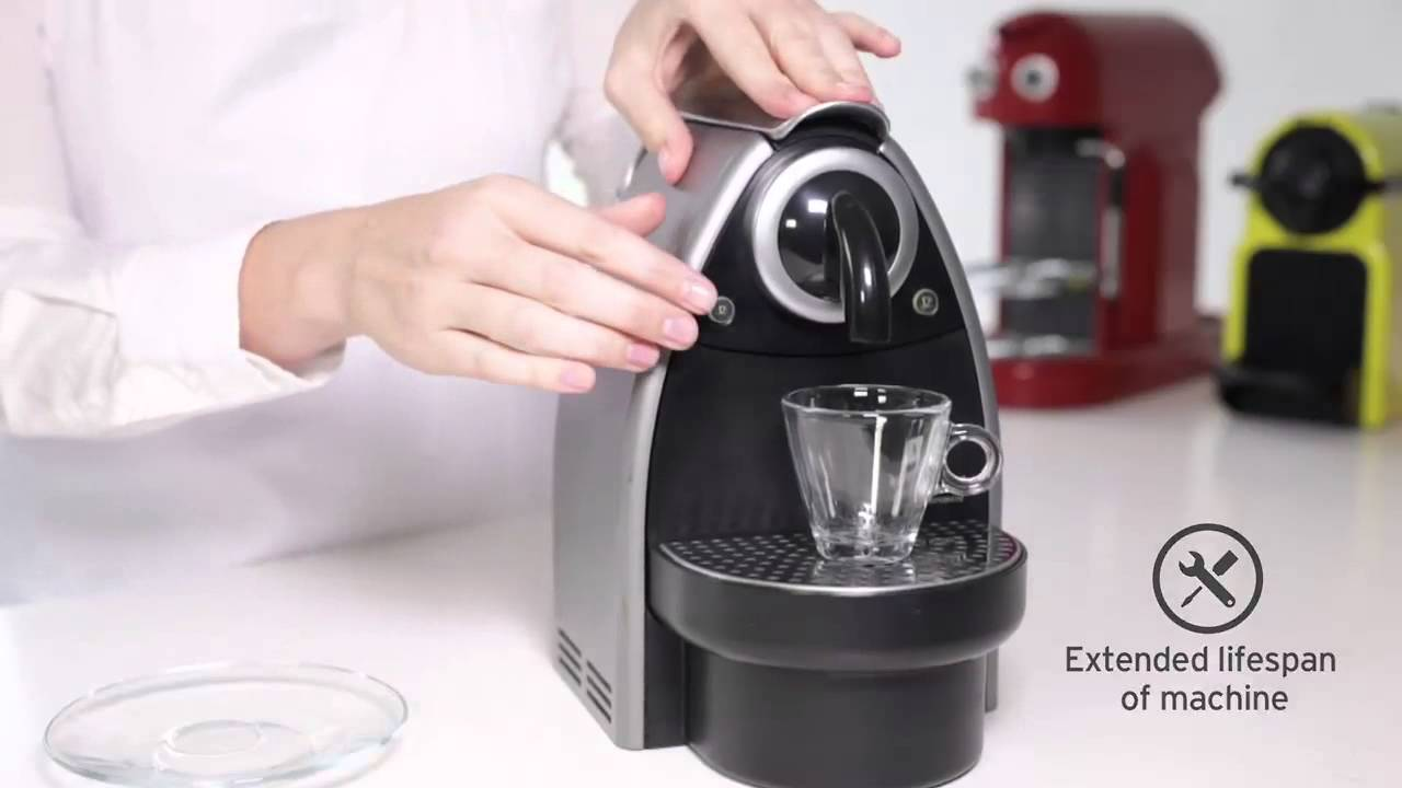 descaling agent for nespresso machines instructions