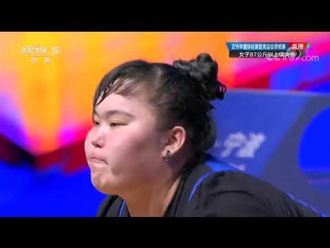 Asian Weightlifting Championships 2019 - Women's +87kg