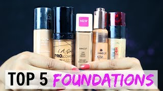 Stalk me - https://goo.gl/1gmCTAIf you are into Makeup than you know that using the right foundation is the key to good makeup so in this video I have shared my Top 5 Foundations that you must try!!Don't forget to LIKE, SHARE & COMMENT!!PRODUCTS SHOWN--------------------------------Revlon Nearly Naked Make Up Spf 20 Foundation, True Beigehttp://amzn.to/2u8IaB5L'Oreal Paris Infallible 24Hr Liquid Foundation, Toffee 320, 30mlhttp://amzn.to/2tEWfTlL. A GIRL PRO Coverage HD Foundation-Nude Beigehttp://amzn.to/2uHj25ZChambor Orosa Skin Fusion Foundation - 303 Ochre Deephttps://goo.gl/sMuPi5Revlon Colorstay Makeup Foundation, Natural Tan 11, 30mlhttp://amzn.to/2tFhYedRELATED MAKEUP VLOGS ---------------------------------------------Makeup Products I Repurchase? My Ultimate Favouriteshttps://youtu.be/4VsCzYlrhIgUnder Rs 200/- Budget - 25 MUST TRY Affordable Makeup & Beauty Productshttps://youtu.be/O5H28-SF0xcAffordable Skincare & Haircare Kits - All Products Under ₹500/- https://youtu.be/vCgaiNgkz6sAffordable Makeup Kit - All Products Under ₹500/- https://youtu.be/Q7IxDo_lgXMEasy Affordable Everyday #Selfie Lookhttps://youtu.be/AI1deF8BcdUSweat-Proof & Water-Proof Makeup? Is it REAL?https://www.youtube.com/watch?v=h_-GPUPStf4How To Apply EYESHADOW Perfectly - The Beginners Guidehttps://youtu.be/GKg9LqighOcHow To Avoid Cakey Foundation - DO'S & DON'Thttps://youtu.be/y-bKs0dM6tEPerfect Winged Eyeliner - Step By Step Tutorialhttps://youtu.be/nJZEc47ATDwIndian Bridal Makeup (ORANGE) - Step By Step Tutorialhttps://youtu.be/6HiKOnNIqpQ3-In-1 Valentine Makeup Tutorial - Sweet, Glam & Sexyhttps://youtu.be/mj7hPT_QkGs6 Different Eyeliner Looks - Using Single Kajal Pencilhttps://www.youtube.com/watch?v=i8kKFcypQoA#GRWM for My Cousins Wedding - Makeup, Hair & Outfithttps://www.youtube.com/watch?v=LBTlzrLb13kXoXoShrutiNEW UPLOADS Monday to Friday!!▷ CONNECT with us!!♥ ♥ YOUTUBE ♥ ♥ https://www.youtube.com/user/shrutiarjunanand♥ ♥ WEB ♥ ♥ http://www.shrutiarjunanand.com/♥ ♥ INSTAGRAM ♥
