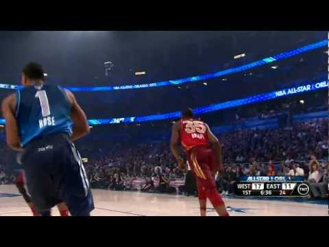 Kevin Durant wins the 2012 All-Star Game MVP