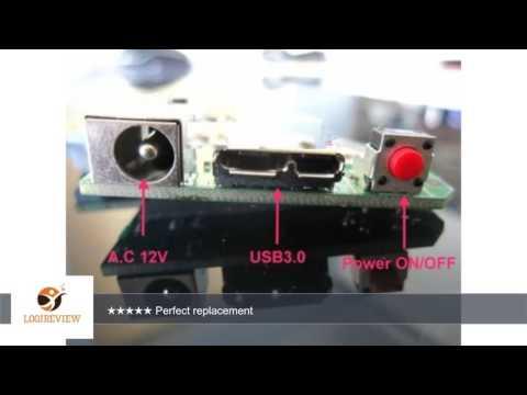 4061-705094-001 Rev AD WD Controller Board My Book Essential 1TB/2TB/3TB USB 3.0   Review/Test