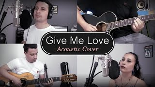 "Acoustic version of the song ""Give me Love"", where we use a typical instrument from our state Goiás - Brazil, viola caipira! Thanks ..."