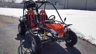8. 200cc Fully automatic go kart with reverse
