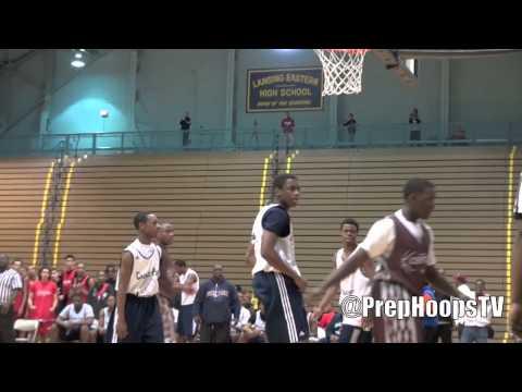 Michigan commit Derrick Walton Jr. 2013 Chandler Park Academy scrimmage highlights