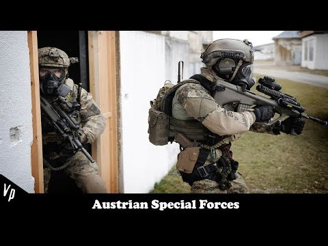 "Austrian Special Forces// ""Till I Collapse""// ""Never Retreat"""