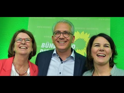 Hessen-Wahl: SPD und CDU saufen ab – die Grünen räumen  ...