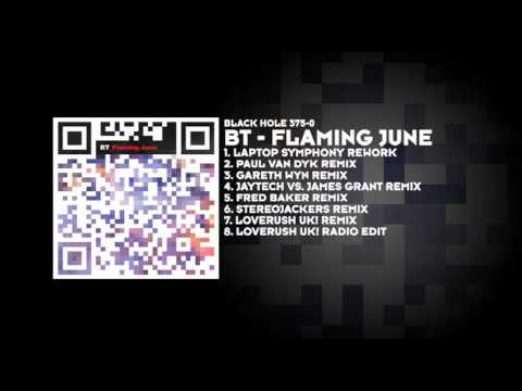 BT - Flaming June Paul van Dyk Remix