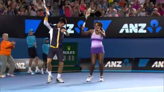 Everyone loves a bit of Kids Day action, and nobody moreso than Roger Federer, Novak Djokovic, Serena Williams, Victoria...