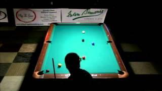 Pt 1 - Hot Seat / Carlo Biado Vs Darren Appleton / 2013 WCC One-Pocket / July