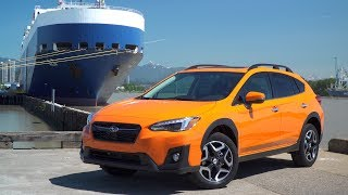 The all-new 2018 Subaru Crosstrek will land in dealerships this summer, the very first four pre-production Crosstrek's arrived at the Port of Vancouver. These first four cars will be used for marketing photo shoots, video and TV ads. This is how they get to Canada on a huge ship able to carry 6000 vars across the Pacific from Japan.The second generation 2018 Subaru Crosstrek is built off the new global platform from Subaru. This compact crossover vehicle is designed to improve handling, interior refinement and safety. The Crosstrek has seating for five and and is powered by a heavily updated 2.0L boxer engine. Power goes to all wheels as standard equipment and the CVT has been improved with a greater range of ratios and a 7-step manual mode.The Subaru Crosstrek has been a massive hit for Subaru ever since it came to Canada in 2013 with amazing resale and the highest loyalty of all Subaru vehicles. The Subaru Crosstrek goes on sale in the summer of 2018. The Subaru Crosstrek, or Crosstreck is sold as the XV in some markets or the XV Crosstrek.