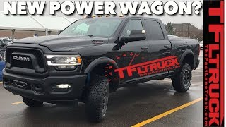 BREAKING NEWS: This Could Be The New 2019 Ram 2500 Power Wagon! by The Fast Lane Truck