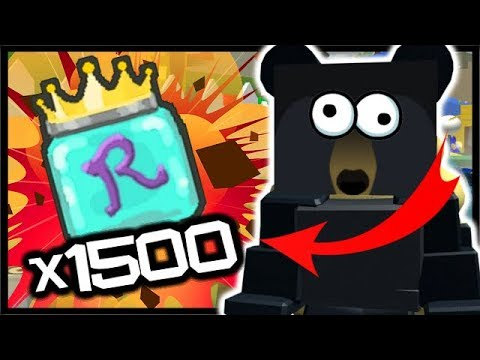 1500 ROYAL JELLY GIFTED BEE HUNT!! | Roblox Bee Swarm Simulator