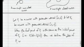 Mod-03 Lec-01 Integration And Contours