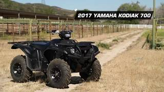 9. 2017 Yamaha Kodiak 700 SE 4x4 ATV Review