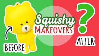 Squishy Makeover: Christmas/Winter Edition
