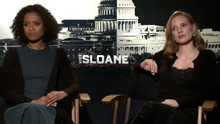 'Miss Sloane' Interview