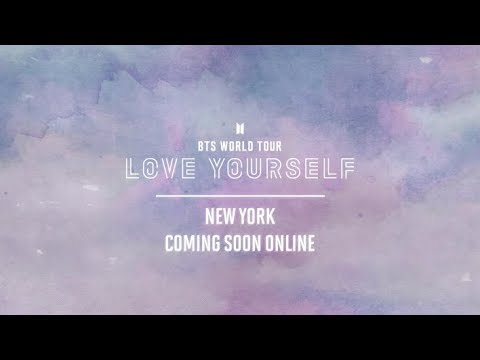 BTS (방탄소년단) WORLD TOUR 'LOVE YOURSELF' NEW YORK Official Trailer