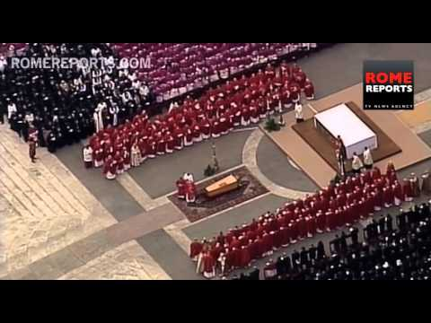 The death and beatification of John Paul II