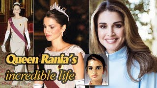 Video The incredible life of Queen Rania of Jordan - 'the most beautiful consort in the world' MP3, 3GP, MP4, WEBM, AVI, FLV Agustus 2019