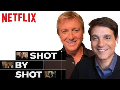 Cobra Kai Daniel, Johnny & Ali Reunion Scene | Shot By Shot | Netflix
