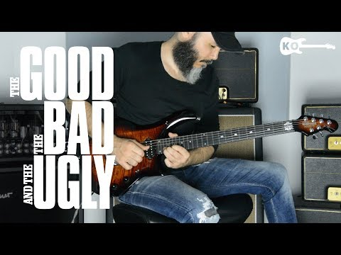 Ennio Morricone - The Good, the Bad and the Ugly - Metal Guitar Cover by Kfir Ochaion