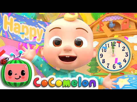 New Year Song | CoComelon Nursery Rhymes & Kids Songs