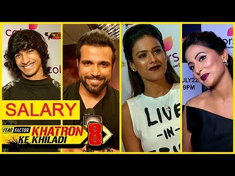 Khatron Ke Khiladi 8 Contestants SALARY REVEALED |