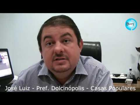 Dolcinópolis - Prefeito José Luiz anuncia o início da construção de Casas Populares