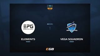 Elements Pro Gaming vs Vega Squadron, Game 2, Dota Summit 7, EU Pre-Qualifier