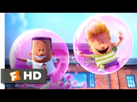 Captain Underpants: The First Epic Movie (2017) - School Pranks Scene (2/10) | Movieclips