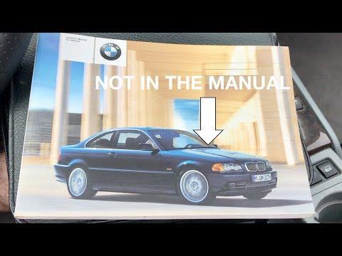 Hidden Features of the BMW e46 part 3