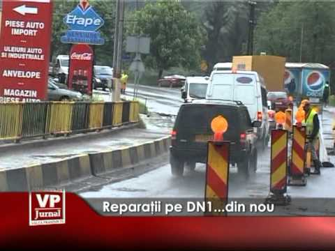 Reparatii pe DN1…din nou