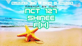 Video NCT 127/SHINEE/f(x) - Summer 127 / View / 4walls ( MashUp ♪ ) MP3, 3GP, MP4, WEBM, AVI, FLV Februari 2018