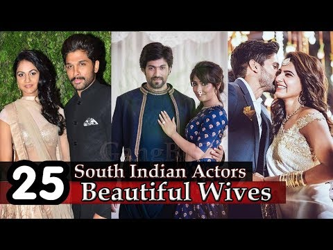 South Indian Actors Wife - 25 Most Beautiful Wives Of South Indian Super Stars | Actors Wives |