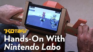 Nintendo Labo: Hands-On