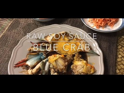 Korean Raw Blue Crab In Soy Sauce