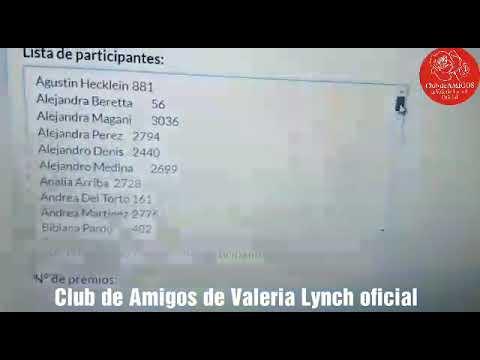 Frases de amigos - Valeria Lynch - Sorteo - Frases de Val
