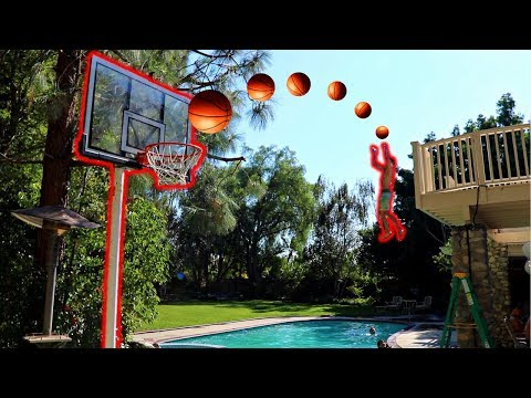 IMPOSSIBLE BASKETBALL TRICK SHOTS CHALLENGE (видео)
