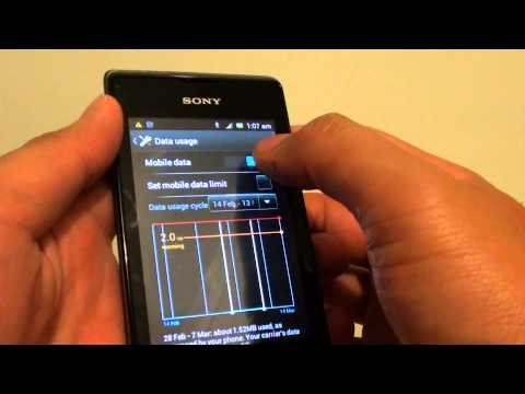 how to logout from facebook in sony xperia p