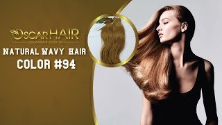Vietnamese Hair | Double Drawn Weft Natural Wavy Hair color #94