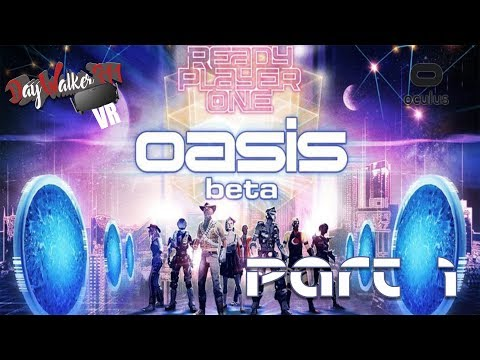 [GER] Let´s Play Ready Player One: OASIS beta - Part 1 (PC) [Oculus Rift] [VR]